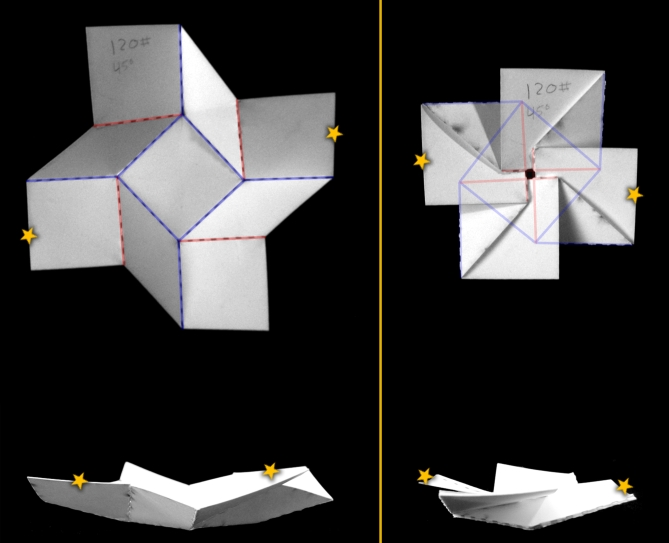 Bistable Origami And Hidden Degrees Of Freedom Itai Cohen Group